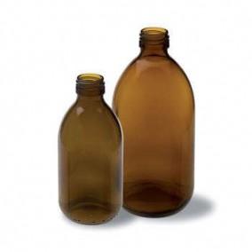 Bottiglia 1000 ml in vetro giallo tipo americano